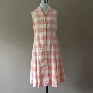 Brooks Brothers Linen Dress, Size 6
